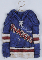Rod Gilbert Signed Rangers Jersey Plaque (Beckett COA) at PristineAuction.com