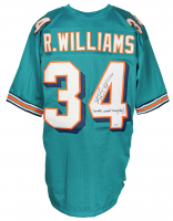 """Ricky Williams Signed Jersey Inscribed """"Smoke Weed Everyday!"""" (Beckett COA) at PristineAuction.com"""