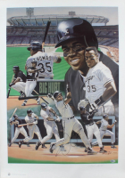 Frank Thomas Signed LE White Sox 25x35 Print (Beckett COA) (See Description) at PristineAuction.com