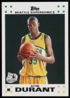 Kevin Durant 2007-08 Topps Rookie Set #2 RC at PristineAuction.com