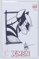 "Ken Haeser Signed 2010-2013 ""X-Men"" Issue #1D Blank Cover Variant Marvel Comic Book with Sketch (Dymanic Forces COA) at PristineAuction.com"