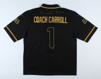 """Pete Carroll Signed Seahawks Jersey Inscribed """"Go Hawks!"""" (JSA COA) at PristineAuction.com"""