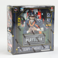 2020 Panini Playbook Football Retail Exclusive Mega Box with (4) Packs (See Description) at PristineAuction.com