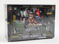 2020 Panini Playbook Football Purple Mega Box with (4) Packs at PristineAuction.com