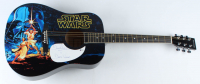 """David Prowse Signed Acoustic Guitar Inscribed """"Is Darth Vader"""" (Beckett COA) at PristineAuction.com"""