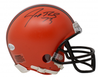 Joe Thomas Signed Browns Mini Helmet (Beckett COA) at PristineAuction.com