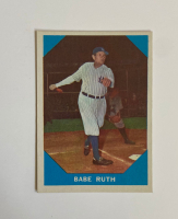 Babe Ruth 1960 Fleer #3 at PristineAuction.com