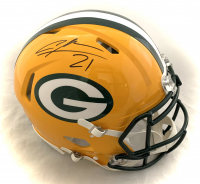 Charles Woodson Signed Packers Full-Size Authentic On-Field Speed Helmet (Fanatics Hologram) at PristineAuction.com