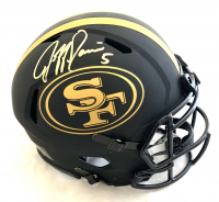 Jeff Garcia Signed 49ers Full-Size Authentic On-Field Eclipse Alternate Speed Helmet (Beckett COA) at PristineAuction.com