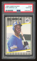 Ken Griffey Jr. 1989 Fleer Glossy #548 (PSA 10) at PristineAuction.com