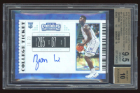 Zion Williamson 2019-20 Panini Contenders Draft Picks RPS College Ticket Autograph Variations Cracked Ice Ticket A #51 /23 (BGS 9.5) at PristineAuction.com