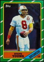 Steve Young 1986 Topps #374 RC at PristineAuction.com