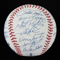 Philadelphia Phillies OML Baseball Team-Signed by (23) with Mike Schmidt, Garry Maddox, Stever Carlton, Greg Luzinski with Multiple Inscriptions (MLB Hologram) at PristineAuction.com