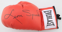 Leon Spinks Signed Everlast Boxing Glove (JSA COA) (See Description) at PristineAuction.com