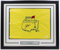 "Jack Nicklaus Signed ""2008 Masters"" Custom Framed Golf Pin Flag (JSA LOA) at PristineAuction.com"