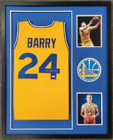 """Rick Barry Signed Custom Framed Jersey Inscribed """"HOF 1987"""" (JSA COA) at PristineAuction.com"""