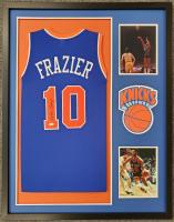 Walt Frazier Signed Custom Framed Jersey (JSA COA) at PristineAuction.com