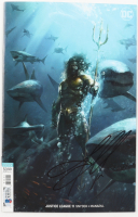 "Jason Momoa Signed ""Aquaman"" Comic Book (Beckett COA) at PristineAuction.com"