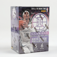 2019 / 20 Panini Illusions Basketball Blaster Box with (6) Packs at PristineAuction.com