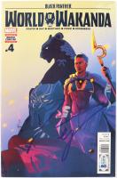 "Danai Gurira Signed 2017 ""Black Panther: World of Wakanda"" Issue #4 Comic Book (Beckett COA) at PristineAuction.com"