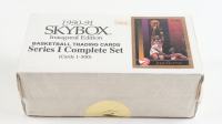 Complete Set of (300) 1990-91 Skybox Series 1 Basketball Cards at PristineAuction.com