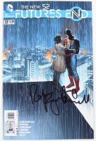 "Rebecca Romijn & Jerry O'Connell Signed 2014 ""The New Futures End"" Issue #17 Comic Book (Beckett COA) at PristineAuction.com"