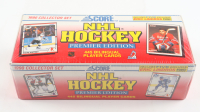 1990 Score Hockey Bilingual Edition Collector Set with (445) Hockey Cards at PristineAuction.com