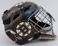"Gerry Cheevers Signed Bruins Full-Size Goalie Mask Inscribed ""HOF 85"" (Fanatics Hologram) at PristineAuction.com"
