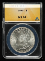 1899-O Morgan Silver Dollar (ANACS MS64) at PristineAuction.com