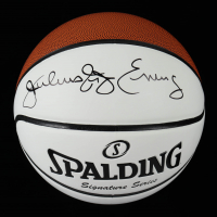 "Julius ""Dr. J"" Erving Signed Signature Series Basketball (Beckett COA) (See Description) at PristineAuction.com"