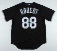 "Luis Robert Signed White Sox Jersey Inscribed ""La Pantera"" (Beckett COA) at PristineAuction.com"