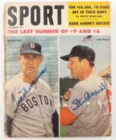 Ted Williams & Stan Musial Signed 1959 Sport Magazine (SGC LOA) (See Description) at PristineAuction.com