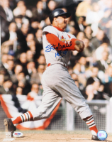 "Stan Musial Signed Cardinals 11x14 Photo Inscribed ""HOF 69""  (PSA COA) at PristineAuction.com"