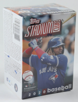 2020 Topps Stadium Club Baseball Blaster Box with (8) Packs at PristineAuction.com