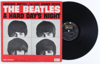 "The Beatles ""A Hard Day's Night"" Original Motion Picture Soundtrack Vinyl LP Record Album (See Description) at PristineAuction.com"