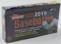 2019 Topps Heritage Minor League Baseball Hobby Box at PristineAuction.com