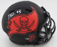 Devin White Signed Buccaneers Eclipse Alternate Speed Mini Helmet (Beckett COA) (See Description) at PristineAuction.com