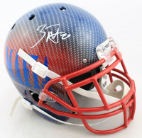 Zack Moss Signed Full-Size Authentic On-Field Hydro-Dipped Helmet (Beckett COA) (See Description) at PristineAuction.com