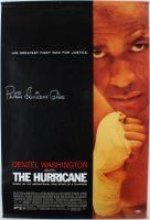 "Rubin ""Hurricane"" Carter Signed ""The Hurricane"" 27x40 Movie Poster (Beckett COA) (See Description) at PristineAuction.com"