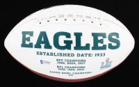 "Alshon Jeffery Signed Eagles Logo Football Inscribed ""SB LII Champs!!"" (Beckett COA) at PristineAuction.com"