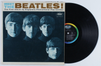 "Vintage The Beatles ""Meet the Beatles!"" Vinyl Record Album at PristineAuction.com"
