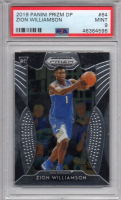 Zion Williamson 2019-20 Panini Prizm Draft Picks #64 RC (PSA 9) at PristineAuction.com