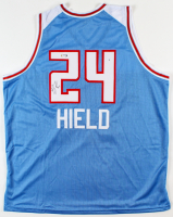 Buddy Hield Signed Jersey (PSA COA) (See Description) at PristineAuction.com