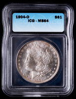 1904-O Morgan Silver Dollar (ICG MS64) at PristineAuction.com
