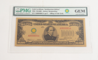 "1934 $10,000 ""Smithsonian Edition"" Gold Certificate (PMG Gem Uncirculated) at PristineAuction.com"