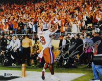 Travis Etienne Signed Clemson Tigers 8x10 Photo (Beckett COA) at PristineAuction.com