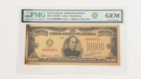 """1934 $10,000 """"Smithsonian Edition"""" Gold Certificate (PMG Gem Uncirculated) at PristineAuction.com"""