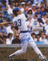 Ryne Sandberg Signed Cubs 8x10 Photo (Beckett COA) at PristineAuction.com