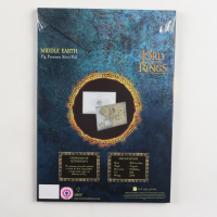 2021 Niue Lord of the Rings - Map of Middle Earth Foil Note 35 g Silver Colorized Proof $2 Coin at PristineAuction.com