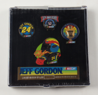 Jeff Gordon NASCAR LE Set of (4) Pins at PristineAuction.com